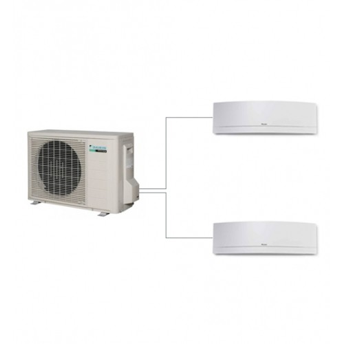 Aer conditionat dublusplit Daikin model de podea 9000+9000