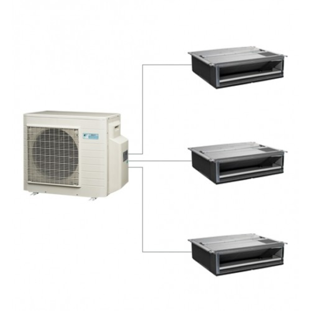Aer conditionat multisplit Daikin 3MXS40K+CE.FTXS25KWiFi+CE.FTXS25KWiFi+CE.FTXS25KWiFi