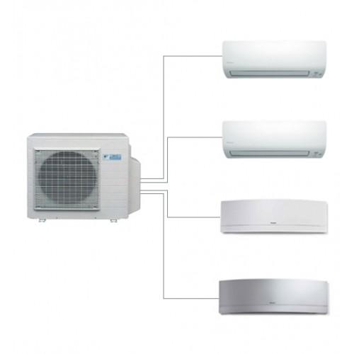 Aer conditionat multisplit Daikin 4MXS68F+ CE.FTXS25KWiFi+ CE.FTXS25KWiFi+ CE.FTXG20LW.WiFi + FTXG20LS.WiFi