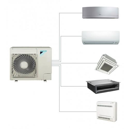 Aer conditionat multisplit Daikin 5MXS90E+ CE.FTXG20LS.WiFi+ CE.FTXS25KWiFi + FDXS25F + FFQ35C + FVXS25F