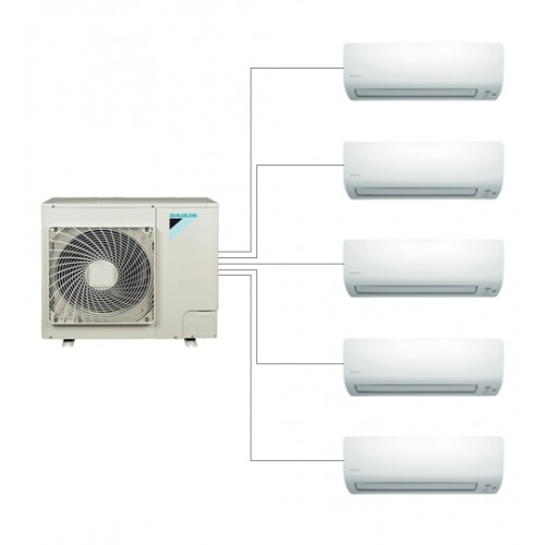 Aer conditionat multisplit Daikin wi-fi 9000+9000+9000+9000+9000