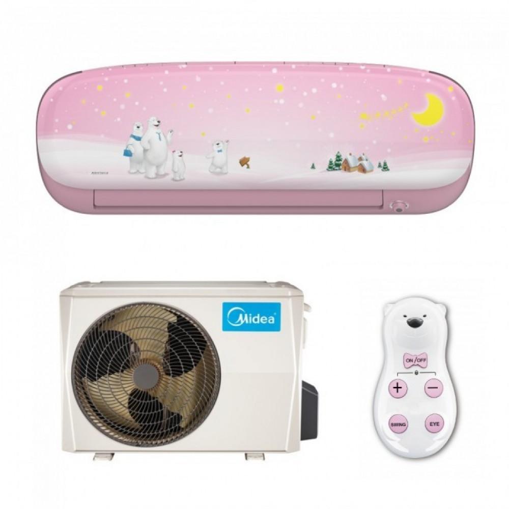 Aparat de aer conditionat Midea Kids Pink MS11P-12HRFN1-P Full DC Inverter 12000 BTU