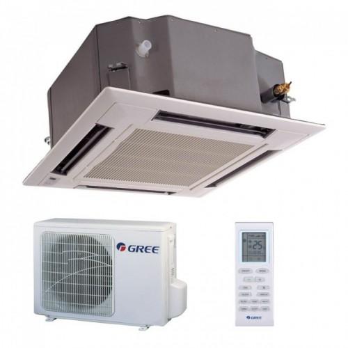 Aparat de aer conditionat tip caseta Gree GKH24K3FI-GUHD24NK3FO Inverter 24000 BTU